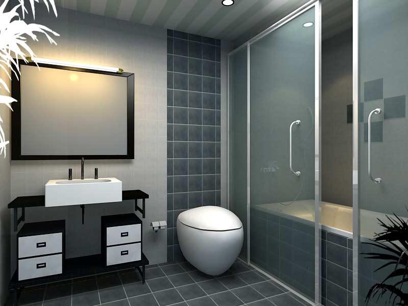 phòng tắm kính đẹp