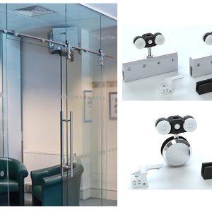 Cửa kính ray treo